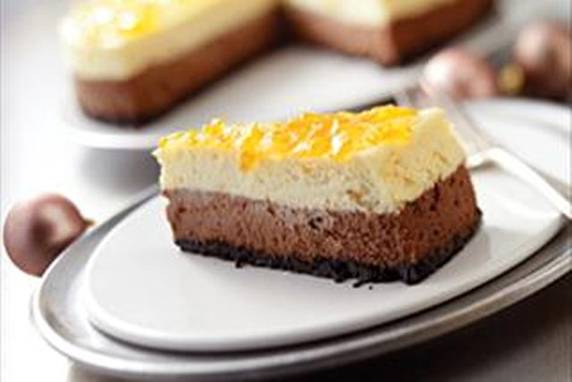 Chocolate-Orange Cheesecake Image 1