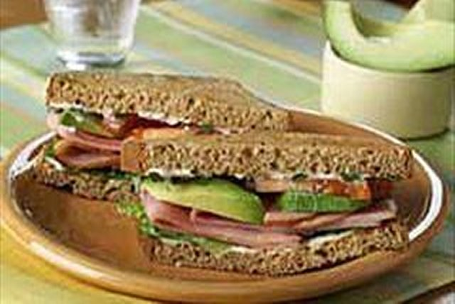 California-Style Ham Sandwich Image 1