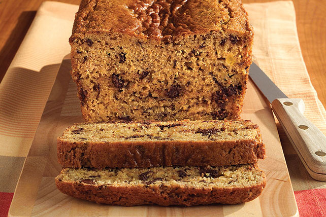 Chocolate Chunk-Pumpkin Bread