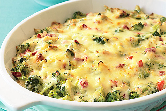 Zesty Hot Holiday Broccoli Dip Image 1