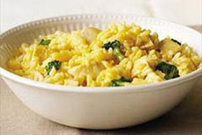 Cheesy Broccoli Rice & Turkey