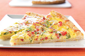 Bacon & Eggs Pizza
