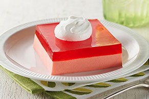 Creamy Strawberry Squares