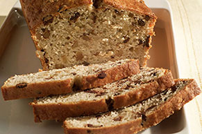 Chocolate Chunk-Banana Bread Image 1