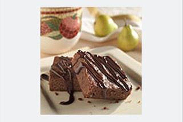 """Barras """"Brownie"""" con chocolate y miel  Image 1"""