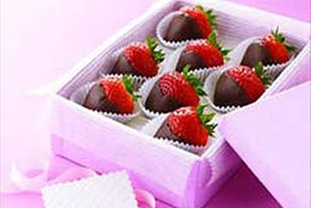 Fresas bañadas en chocolate Image 1