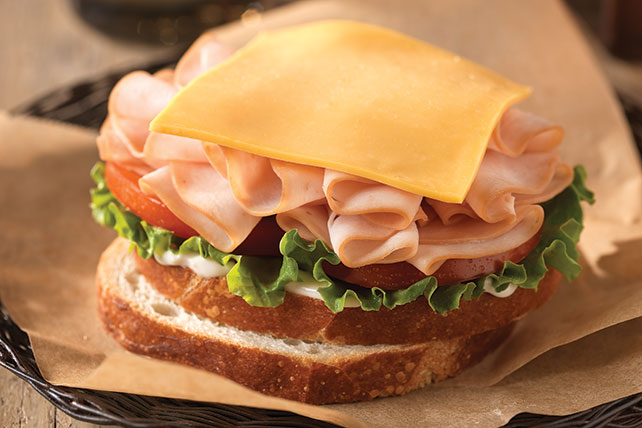 Classic Turkey and Cheese Sandwich Image 1