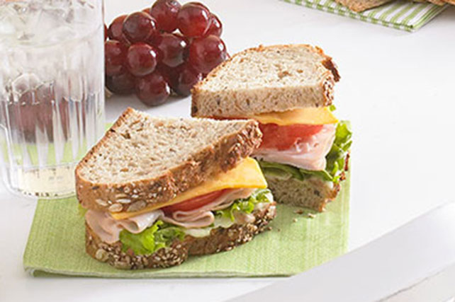 Turkey Club Sandwich Image 1