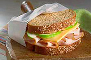Turkey-Apple Sandwich