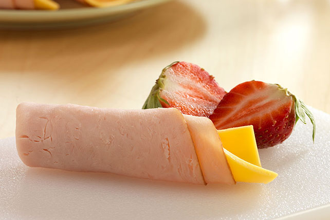 Cheesy Turkey Snack Roll Image 1