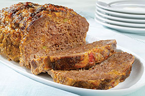 Cheesy Salsa Meatloaf