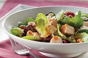 Cranberry, Feta & Toasted Walnut Salad