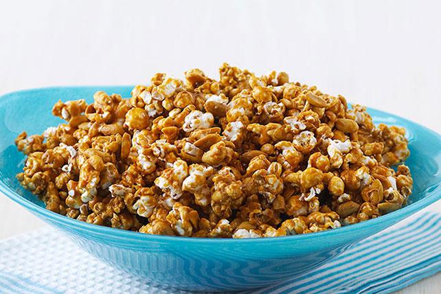 Maïs soufflé au caramel facile à préparer Image 1