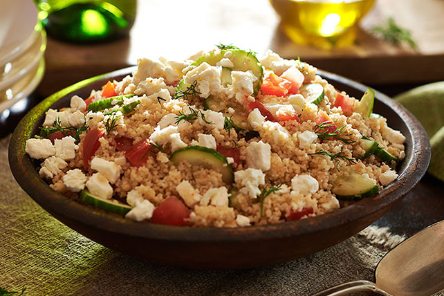 Greek-Style Couscous Salad Recipe