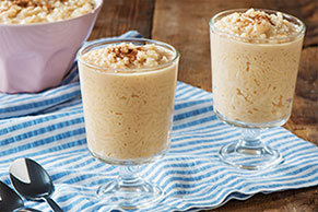 Coconut-Caramel Rice Pudding