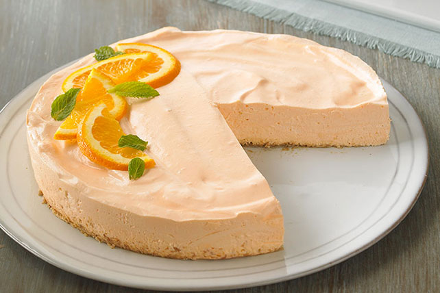 Low-Fat Orange Dream Cheesecake - Kraft Recipes