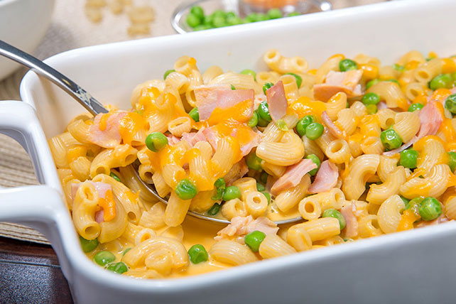 Mac and Cheese Casserole with Ham Image 1