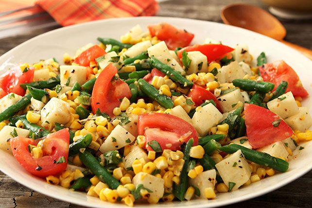 Grilled Corn Salad Image 1