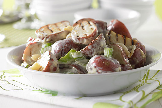 Grilled Garlic-Potato Salad Image 1