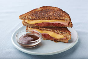 BBQ Grilled Cheese & Bologna