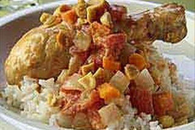 Chicken and Peanut Stew Image 1