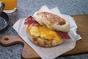 Grab-and-Go Breakfast Sandwich Image 1