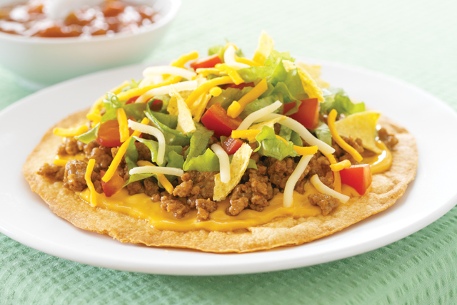 Taco Salad Tostada - Kraft Recipes