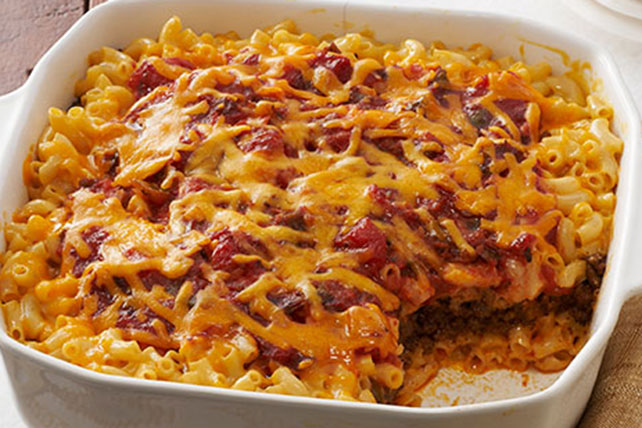 taco bake casserole kraft recipes