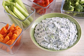 Garlic-Spinach Dip