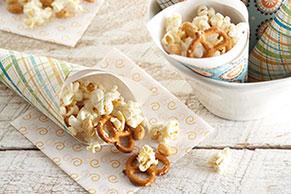 Cheesy Parmesan Popcorn