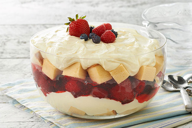 Summer Berry Trifle - Kraft Recipes