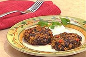 Black Bean Rice Cakes