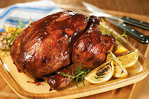 Whole Barbecued Chicken