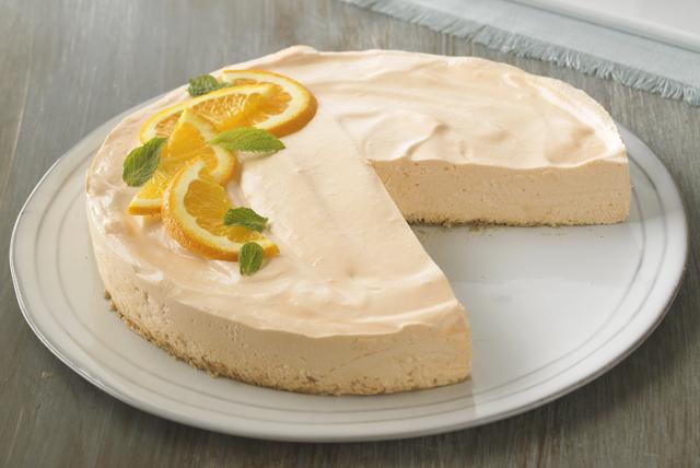 Cheesecake ensueño de naranja bajo en grasa Image 1