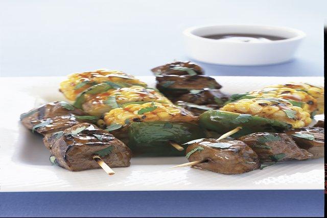 Brochetas sencillas de carne de res Image 1