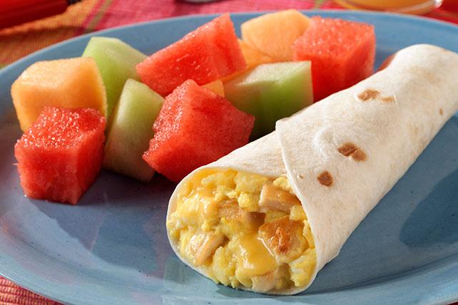 Burritos de chorizo para el desayuno Image 1
