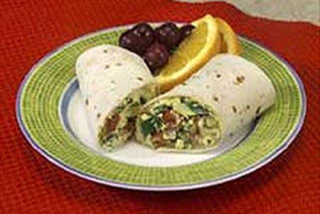 Breakfast Egg Burritos Image 1