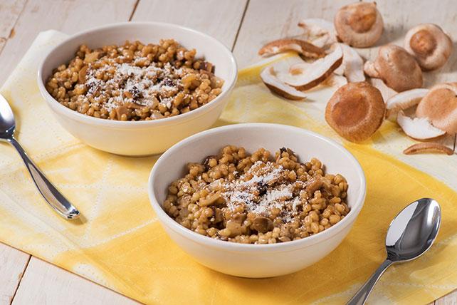 Barley Mushroom Risotto Image 1