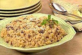 Barley Mushroom Risotto