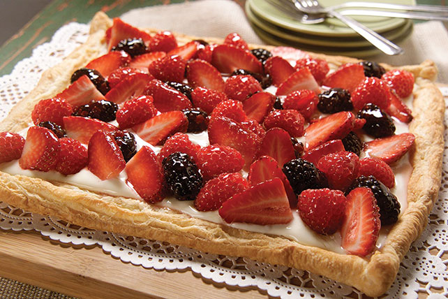 Berry Fruit Tart Image 1