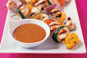 Chicken Kabob Dippers