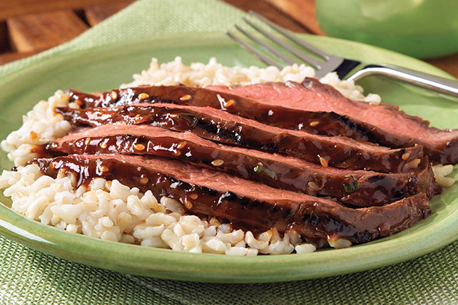 Asian Grilled Flank Steak Image 1