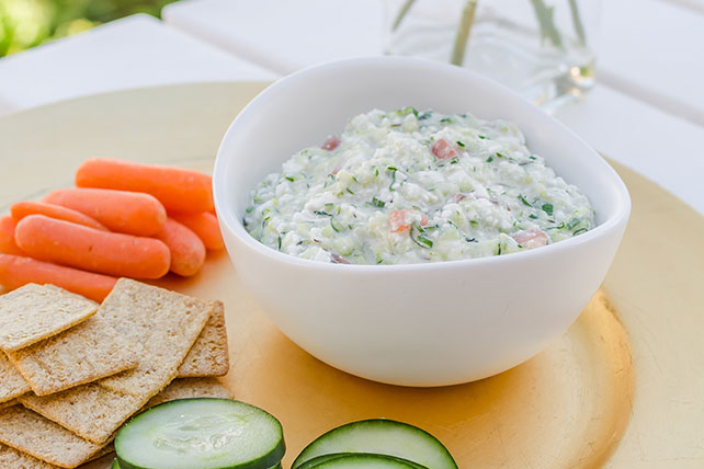 Cheesy Vegetable Dip Image 1