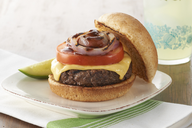 Bold 'n' Saucy Cheeseburger