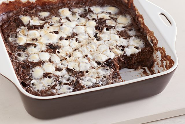 SMores Bread Pudding Image 1