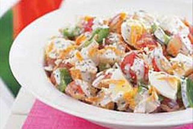 On-the-Light-Side Potato Salad Image 1