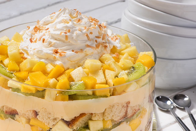 Tropical Fruit Trifle Image 1