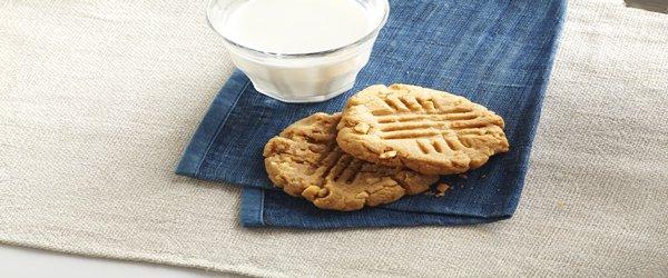 Sencillas galletas de mantequilla de maní
