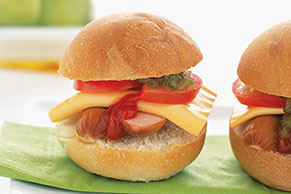 "Mini Hot Dog ""Burgers"""