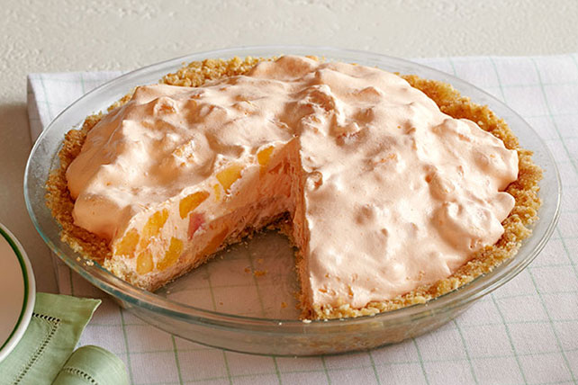 Peaches and Cream Pie  Image 1